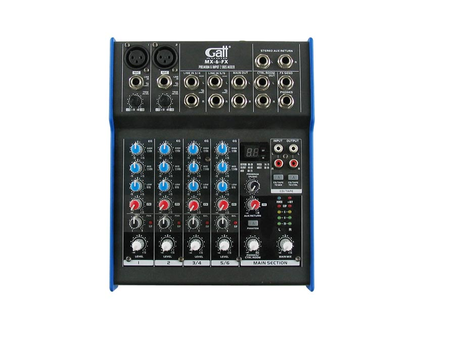 MX-6-FX Gatt Audio